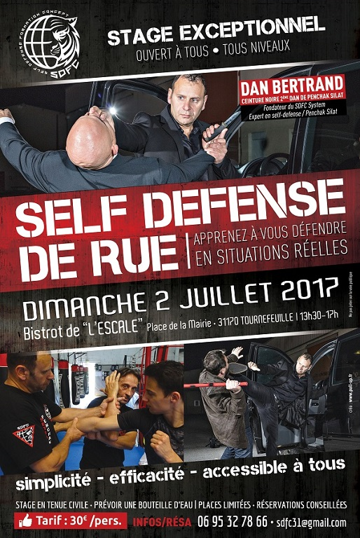 Stage Self-Defense Situations Réelles Rue Bistrot