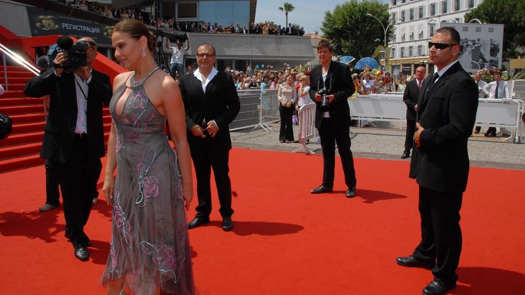 Ornella Muti, Dan Bertrand, Festival de Cannes