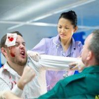 Violence en milieu hospitalier