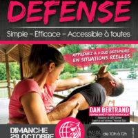 Stage de Self-Défense 100% Féminin