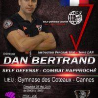 Stage self-defense et combat rapproché avec Dan Bertrand