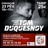 Tom Duquesnoy à Toulouse pour un stage MMA